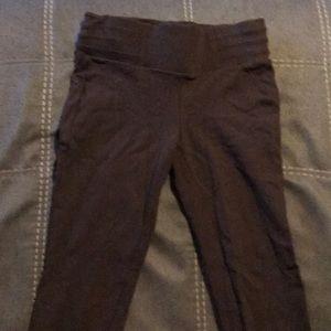 Brown tight leggings